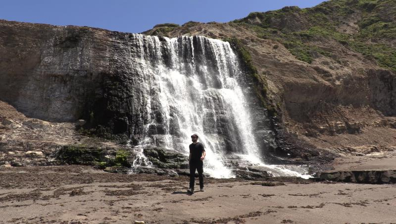 Walking near Alamere Falls