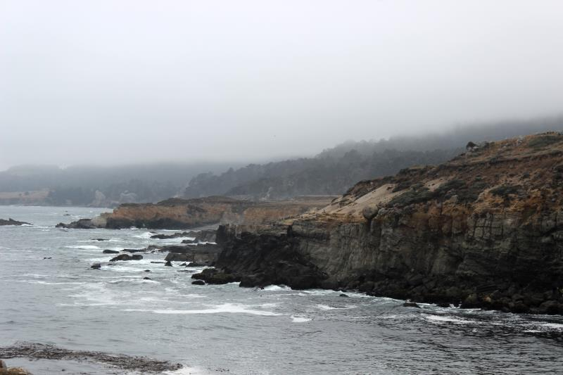 View from Stump Beach Cove in Salt Point State Park