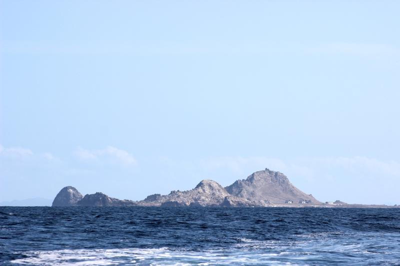 Farallon Islands seen near Continental Shelf
