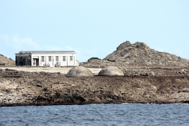 Building on Farallon Islands