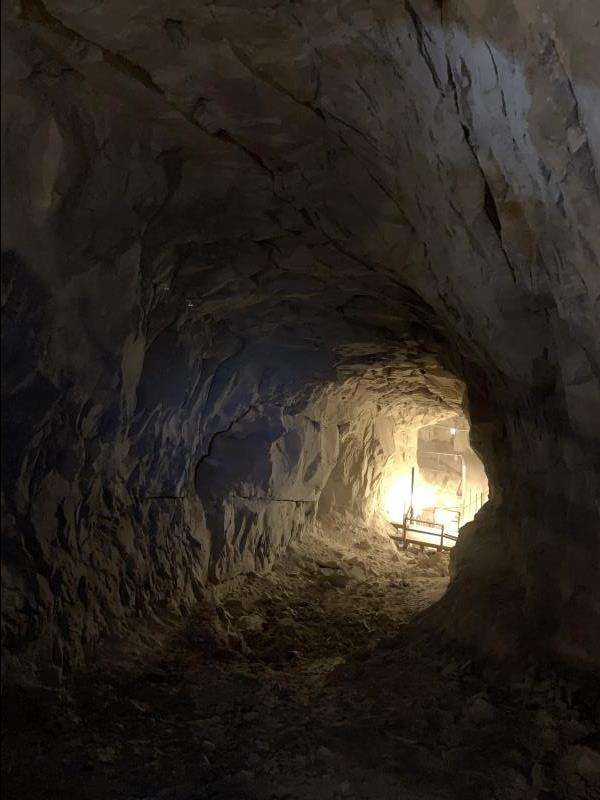 Inside Black Diamond Mine