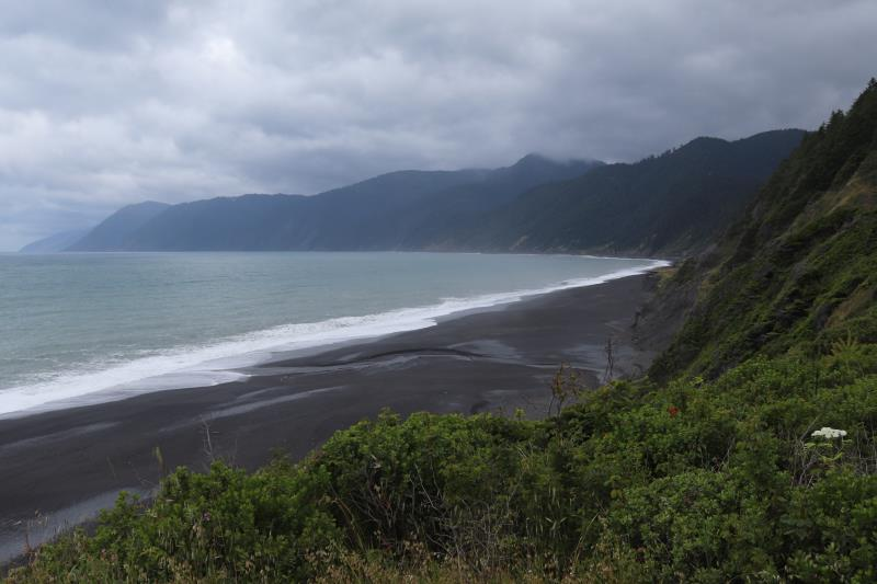 View from Black Sands Beach