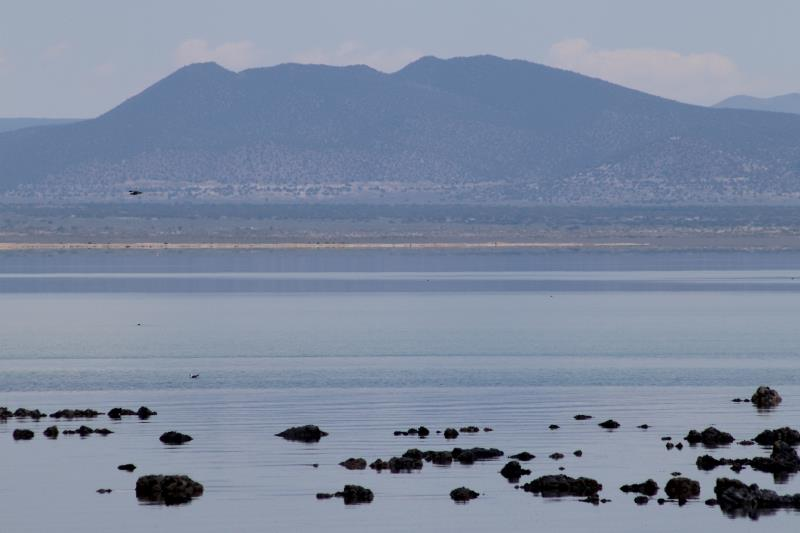 Mountains seen from north section of Mono Lake