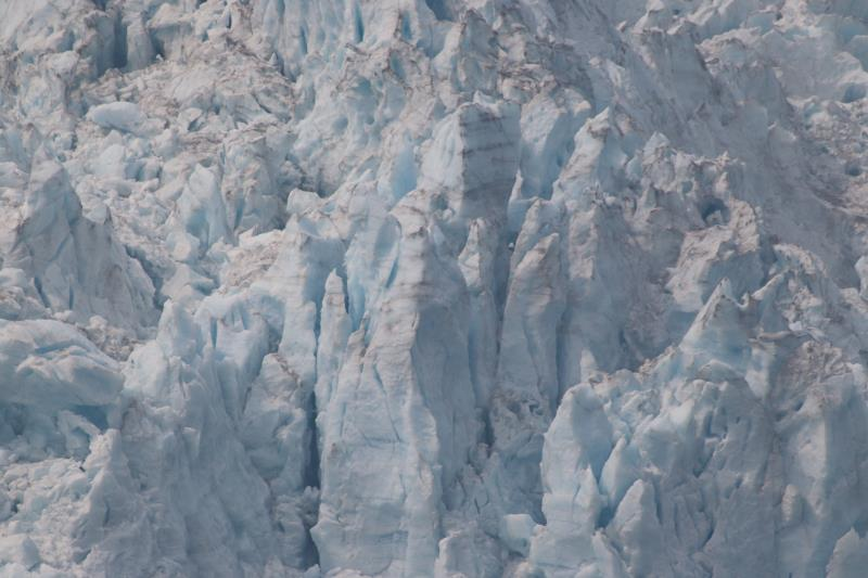 Up close of glacier