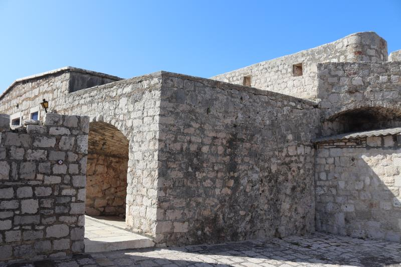 View inside fortress