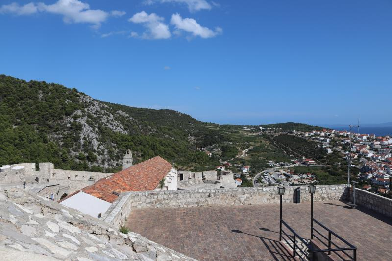 View at top of fortress