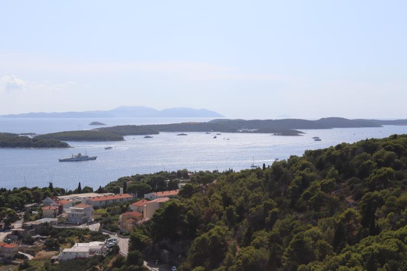 View of Hvar from fortress