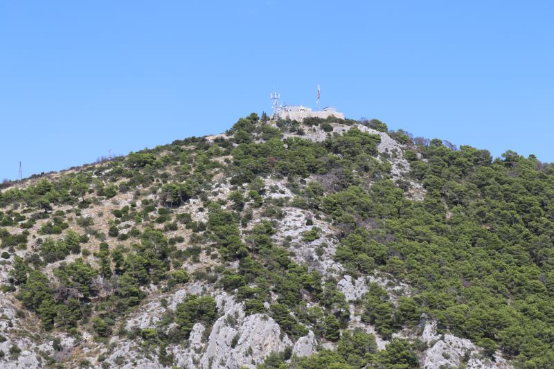 View of higher point from fortress