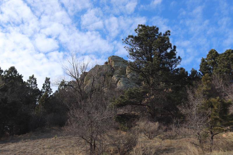 Near trail head of Mt. Sanitas