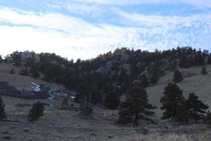 View from Sanitas Valley trail