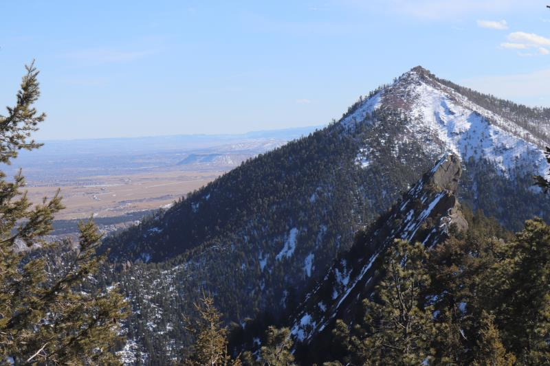 View from summit of Green Mountain
