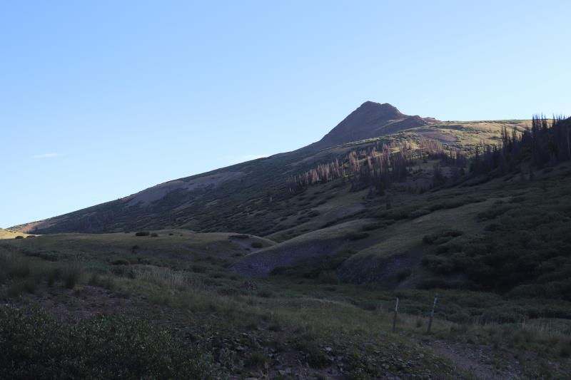 Trailhead to San Luis Peak