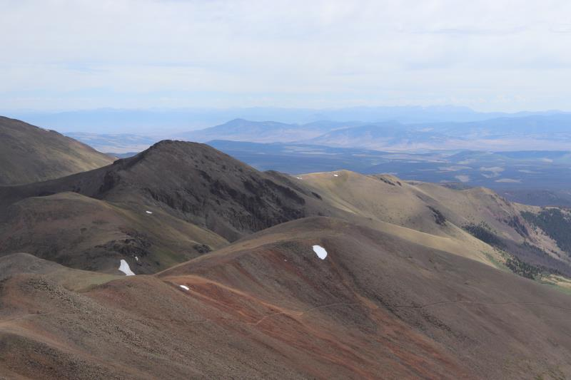Summit view on San Luis Peak