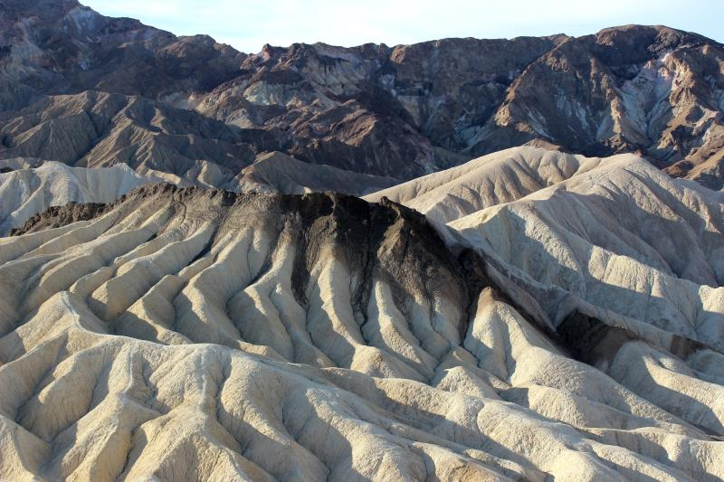 View from Zabriskie Point outlook