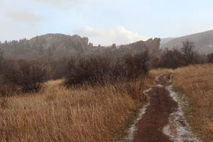 Willow Creek Trail at Roxborough State Park