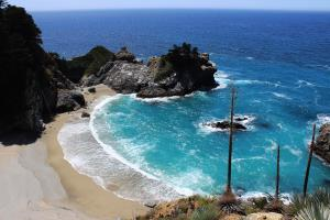 Big Sur: McWay Falls, River Gorge and Pfeiffer Beach