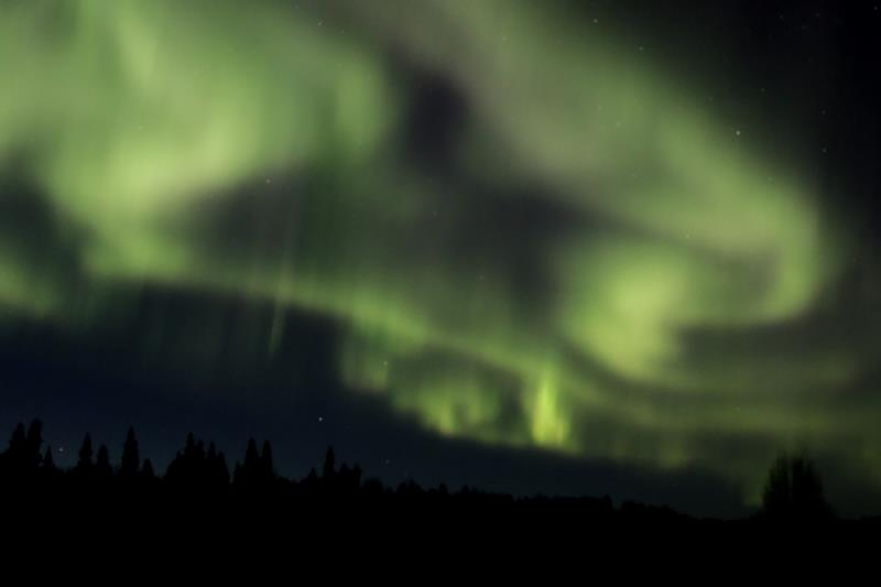 Aurora from Chena Lakes