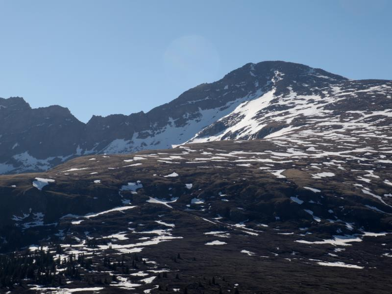 Mt. Bierstadt near trailhead