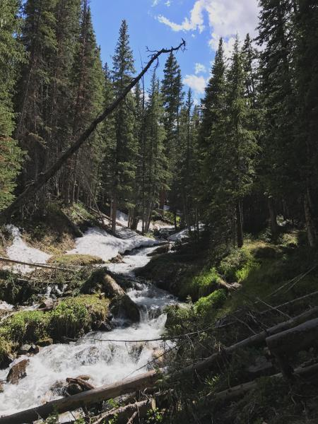 A stream I had to cross in Breckenridge