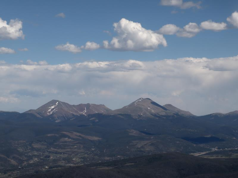 Bald Mountain from Buffalo Mountain summit