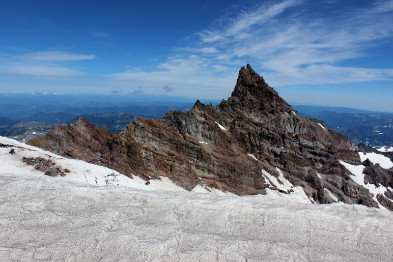 Little Tahoma Peak seen from Ingraham Flats
