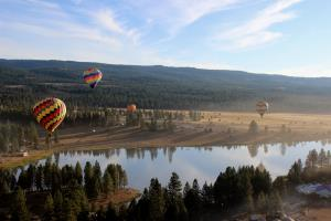 Oregon Eclipse Festival: Hot Air Balloons