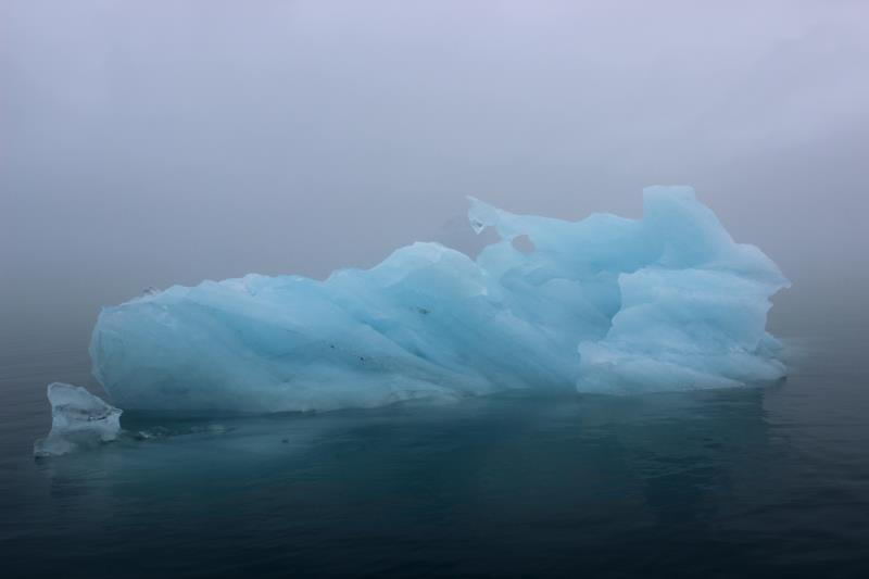 Iceberg seen from boat
