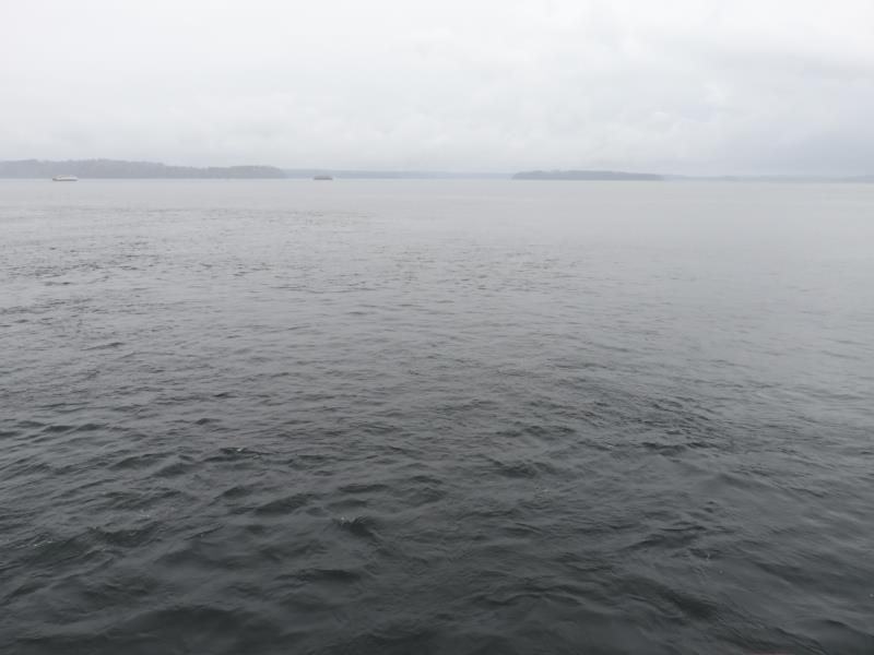View from ferry to Vashon Island