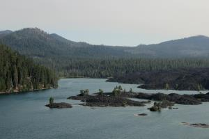 Lassen Park's Butte Lake